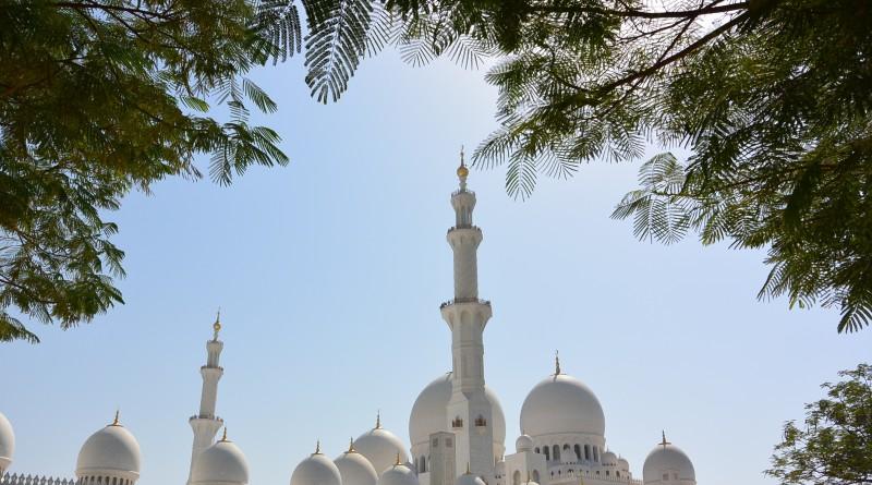 Осень в ОАЭ. Великая мечеть шейха Зайда