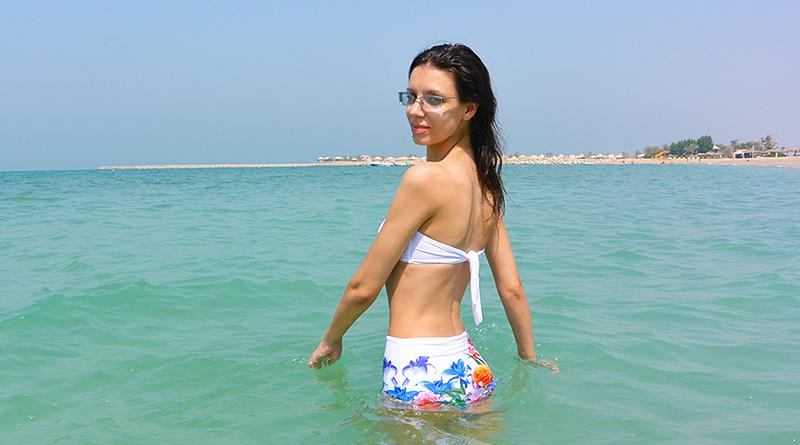 Осень в ОАЭ. Солнечные пляжи эмирата Рас-Эль-Хайма